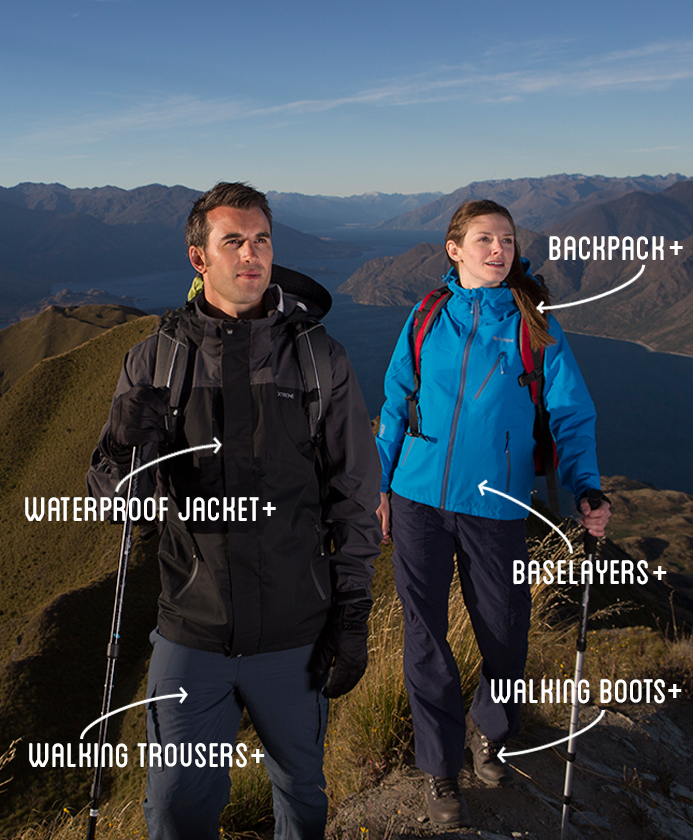 proper hiking clothes